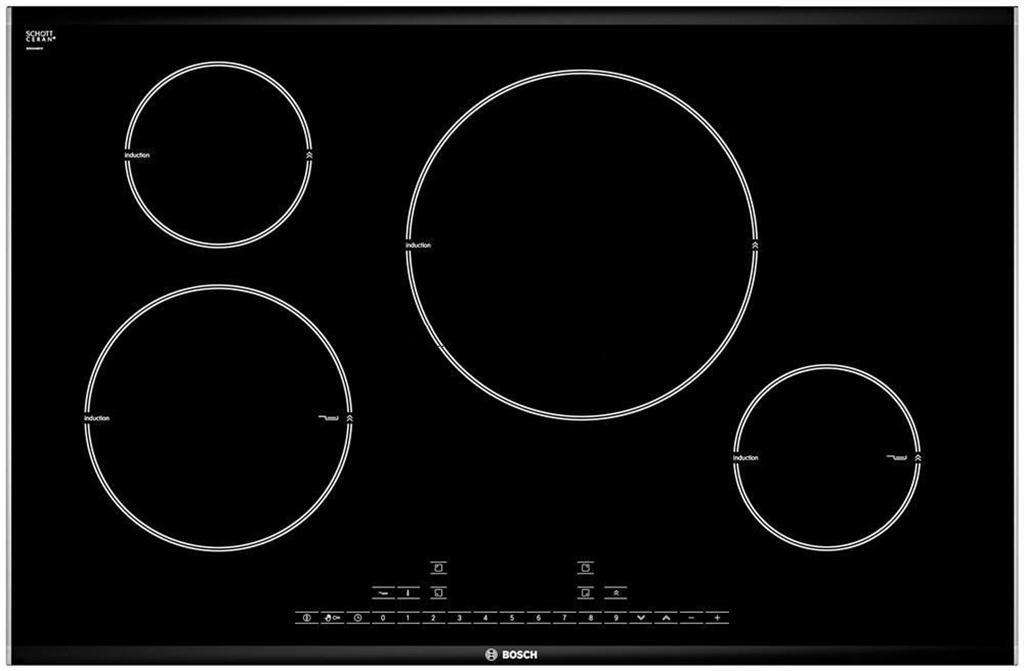 Bếp Từ Bosch PIL875L24E, báo giá bếp từ 4 bếp nấu Bosch chính hãng