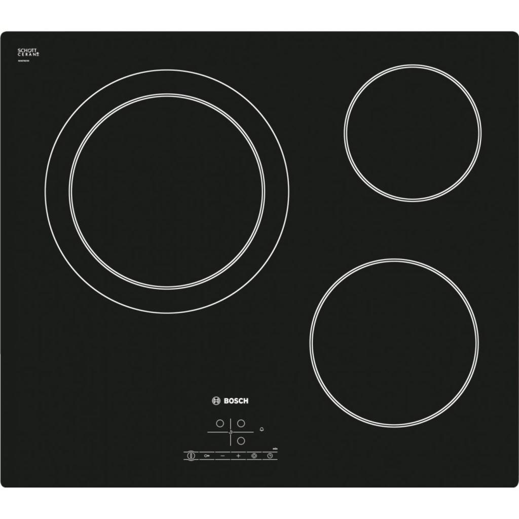 Bếp Điện Bosch PKK611B17E, bếp điện 3 bếp nấu bosch chính hãng