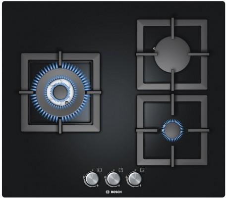 Bếp Gas Âm Bosch PPC616B21E, báo giá bếp gas âm kính Bosch cao cấp