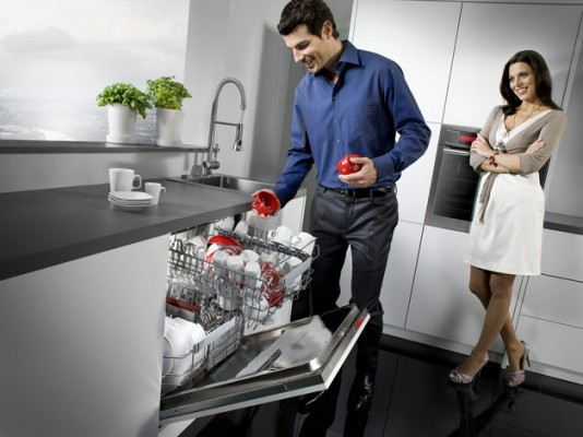 Máy rửa bát Bosch tiết kiệm nước tối đa
