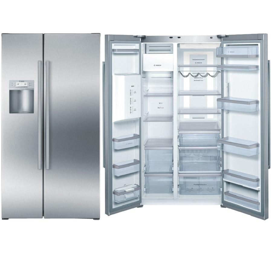 Tủ lạnh side by side Bosch KAD62P91, báo giá tủ lạnh Bosch cao cấp