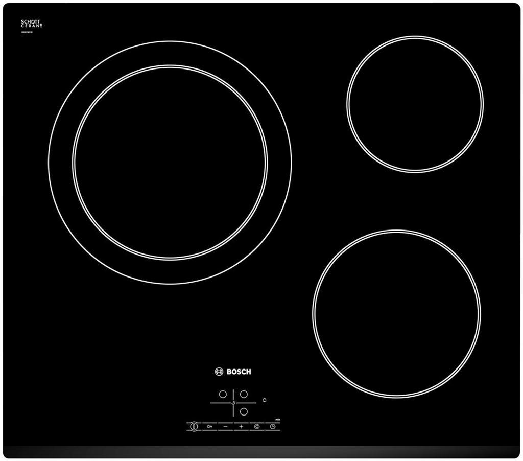 Bếp điện Bosch PKK631B17E, bếp điện 3 bếp nấu Bosch