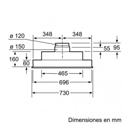 kích thước Máy Hút Mùi Bosch DHL755B