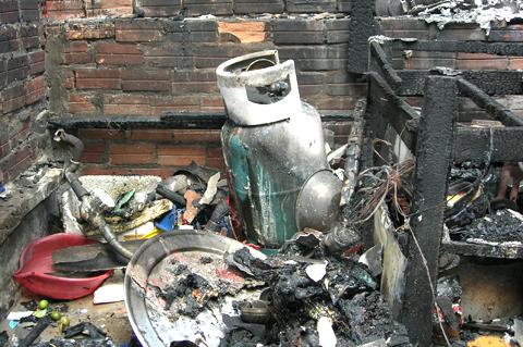 Rất nhiều vụ cháy nổ bình gas thương tâm xảy ra trong thời gian vừa qua