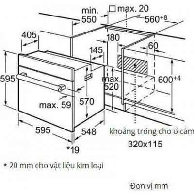 lo nuong Bosch HBG23B550J chinh hang