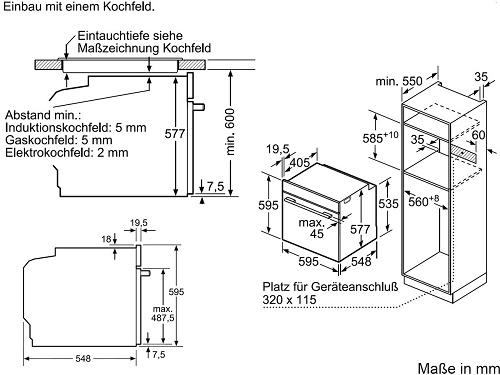Lò nướng Bosch HBG675BB1 chất lượng cao