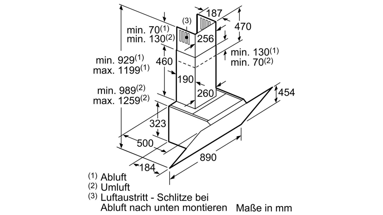 Máy hút mùi Bosch DWK97IM60